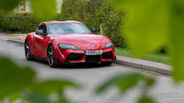 Toyota GR Supra review - static