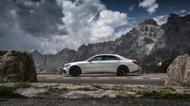 Mercedes S-class - side profile