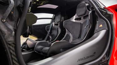 McLaren Senna seats