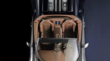 Bugatti Veyron Legend overhead view