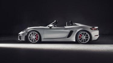 Porsche 718 Spyder side