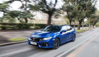 Honda Civic 1.6 i-DTEC – front quarter