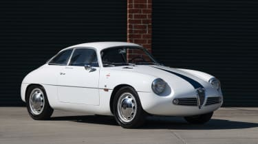 1960 Alfa Romeo Giulietta SZ Zagato front