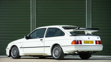 Ford Sierra Cosworth RS500 – rear quarter