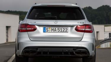 2019 Mercedes-AMG C63 – rear