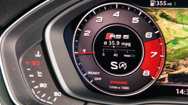 Audi RS5 – Virtual Cockpit