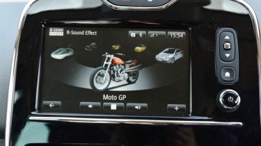 Renault Clio GT Line R-Sound effect