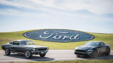 Ford Mustang Bullitt – new and original