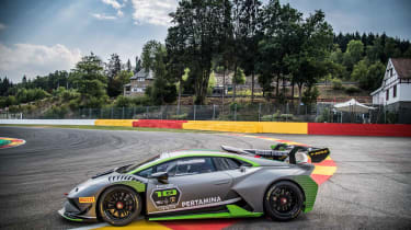 Lamborghini Huracán Super Trofeo Evo 10th Edition - Side