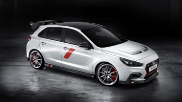 Hyundai i30 N Option Pack - paris front quarter