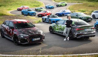 Audi RS3 manufacturer spy 1