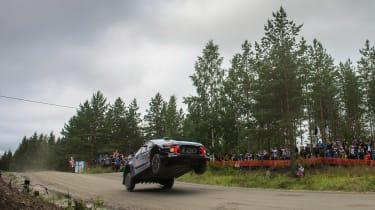 WRC Rally Finland - i20 jump 2