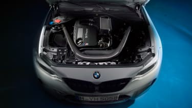 BMW M2 Competition Pack - evo engine bay
