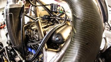 Peugeot 208 T16 Pikes Peak running gear