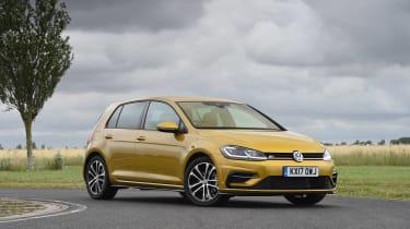 VW Golf - front three quarter