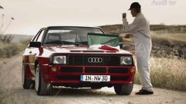 Audi S3 vs Sport quattro: video