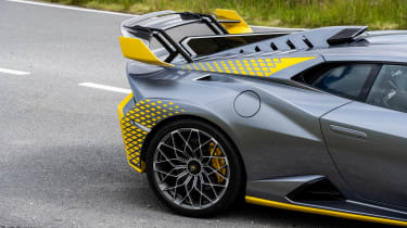 Lamborghini Huracan STO CP – rear clamshell