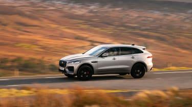 Jaguar F Pace 2021 review - P400 side