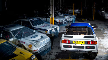 Ford RS200 - rear