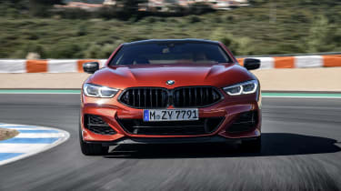 BMW M850i coupe review - nose