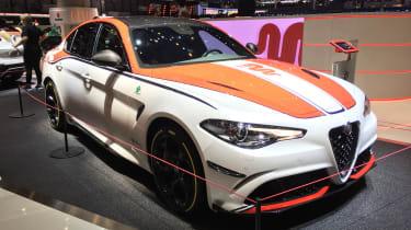 'Alfa Romeo Racing' Giulia and Stelvio