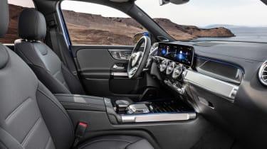 Mercedes GLB revealed - interior