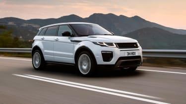 Range Rover Evoque - 2017 front