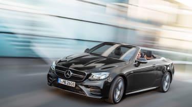Mercedes-AMG E53 cabriolet – front quarter