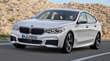BMW 6-series GT - front driving 3