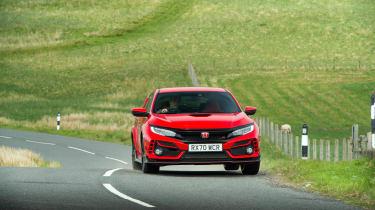 Hot hatchback triple – front Honda