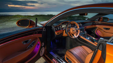 Bentley Continental GT review – interior