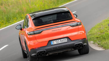 Porsche Cayenne Turbo Coupe - rear