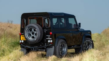Twisted Land Rover Defender rear view