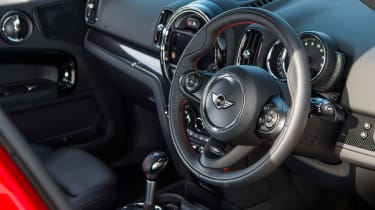 Mini Countryman SD - Interior
