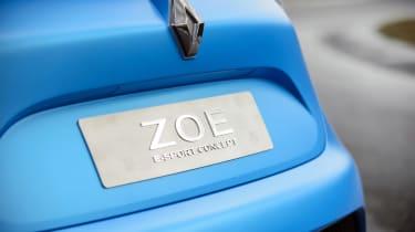 Renault Zoe E-Sport - tailgate