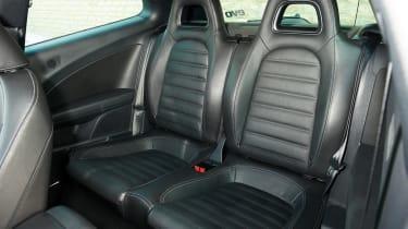 VW Scirocco rear seat