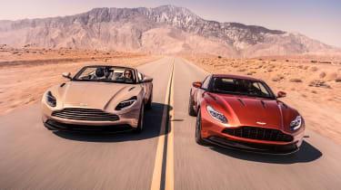 Aston Martin DB11 Volante - twins