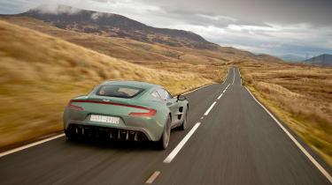 Aston Martin One-77 - rear