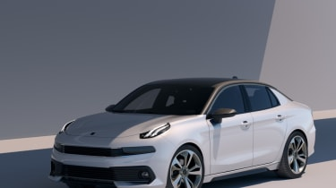 Lynk & Co 03 Concept front three quarter