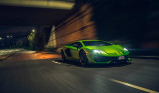 Lamborghini Aventador SVJevo – front tracking