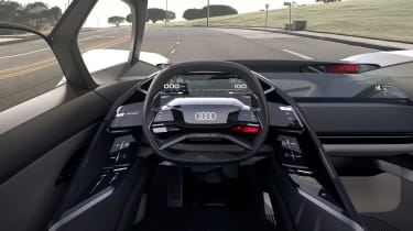 Audi PB18 Etron - dash