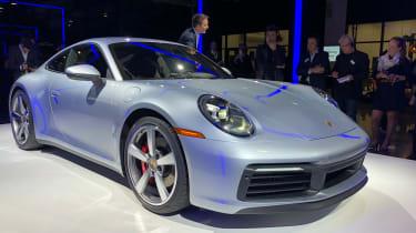Porsche 911 live - front