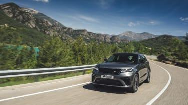 Range Rover Velar SVA - front quarter