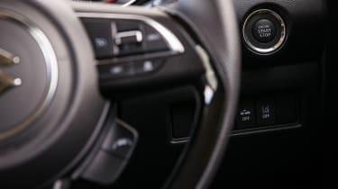 Suzuki Swift Sport - start button