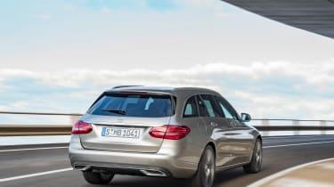 Mercedes-Benz C-class – rear