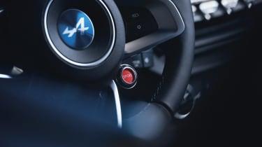 Alpine A110 - interior