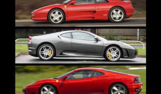 Ferrari V8 supercar hire