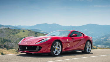 Ferrari 812 Superfast - front quarter
