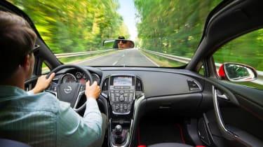 2012 Vauxhall Astra Biturbo panoramic windscreen