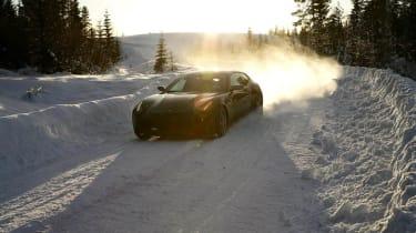 New Ferrari ice driving course